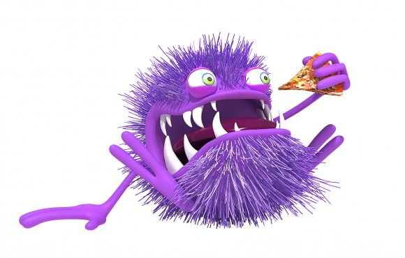 Fresh-B : 3D Purple Bacteria