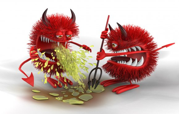 Fresh-B : 3D Devil Bacteria