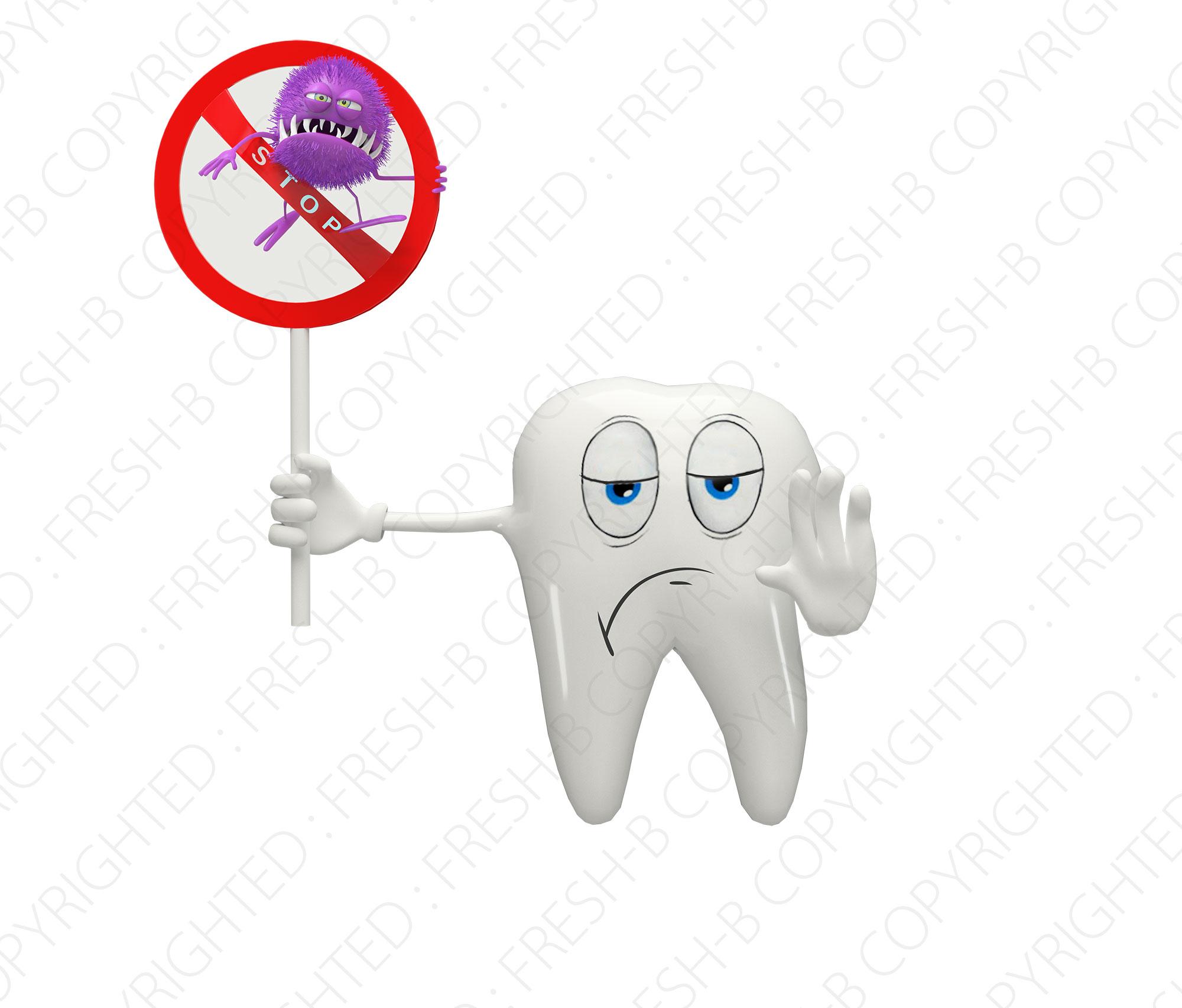 3D-teeth-saying-stop