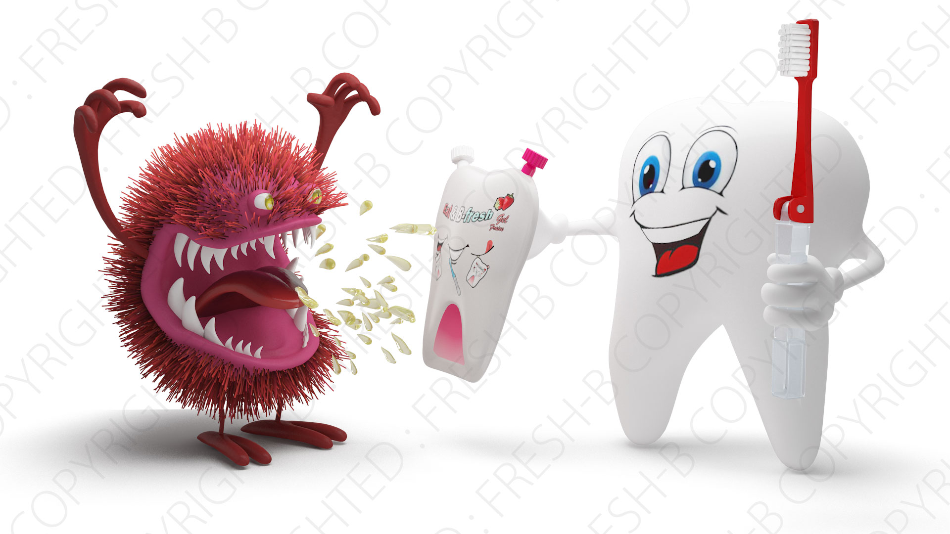 3D-teeth-and-bacteria