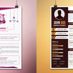 free-graphic-design-resume-templates